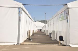 External view of facilities provided by Sheikh Mohammed Hussein Al Amoudi