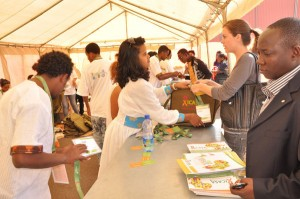 Participants registering at ICASA 2011